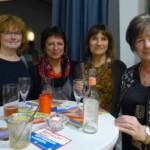 v.lks.: Martina Baumstark, Andrea Pietzenuk, Beate Schwingel, Katharina Kaps